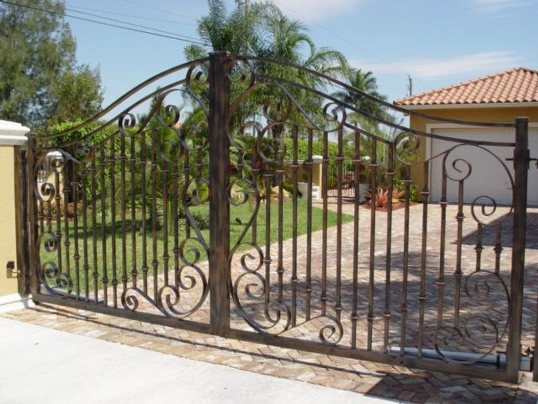 Installing Wrought Iron Gates Hipages Com Au