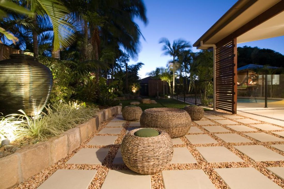 How much does outdoor paving cost for Outdoor entertainment area on a budget