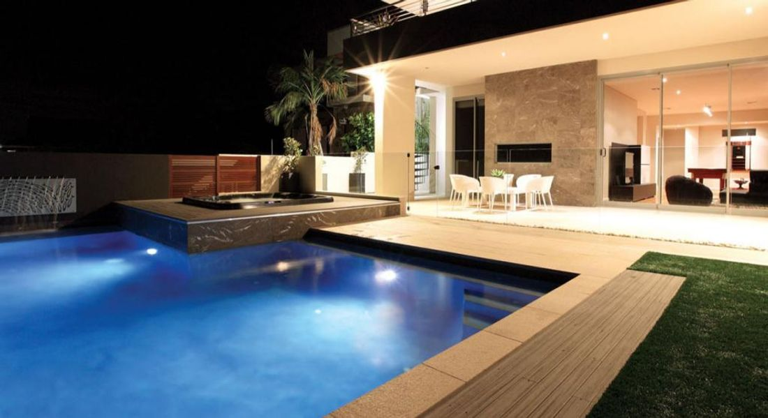 swimming pool lighting design. when you choose pool lighting youu0027ll have a choice between flush mounted lights and surface tend to spread light over swimming design