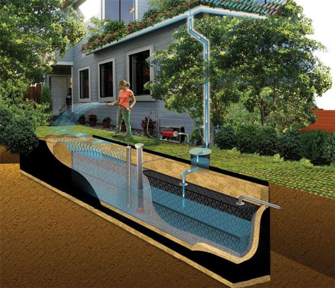 Rainwater tank design ideas get inspired by photos of rainwater - Why Install A Rainwater Tank