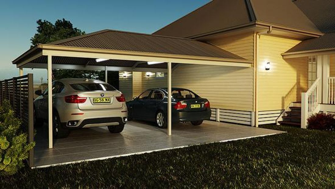 How Much Does a Double Carport Cost? - hipages.com.au