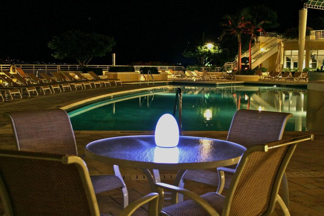 Light up your garden with these clever ideas hipages larger led outdoor units may need to be installed by an electrician once installed it will be a long time before you have to replace your lights because aloadofball Choice Image