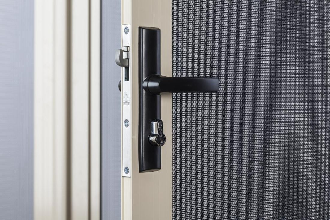 AS 5040 Is Concerned With The Installation Of Security Doors And Windows.  They Should Be Installed In Such A Way That An Intruder Cannot Pry Off  Hinges And ...