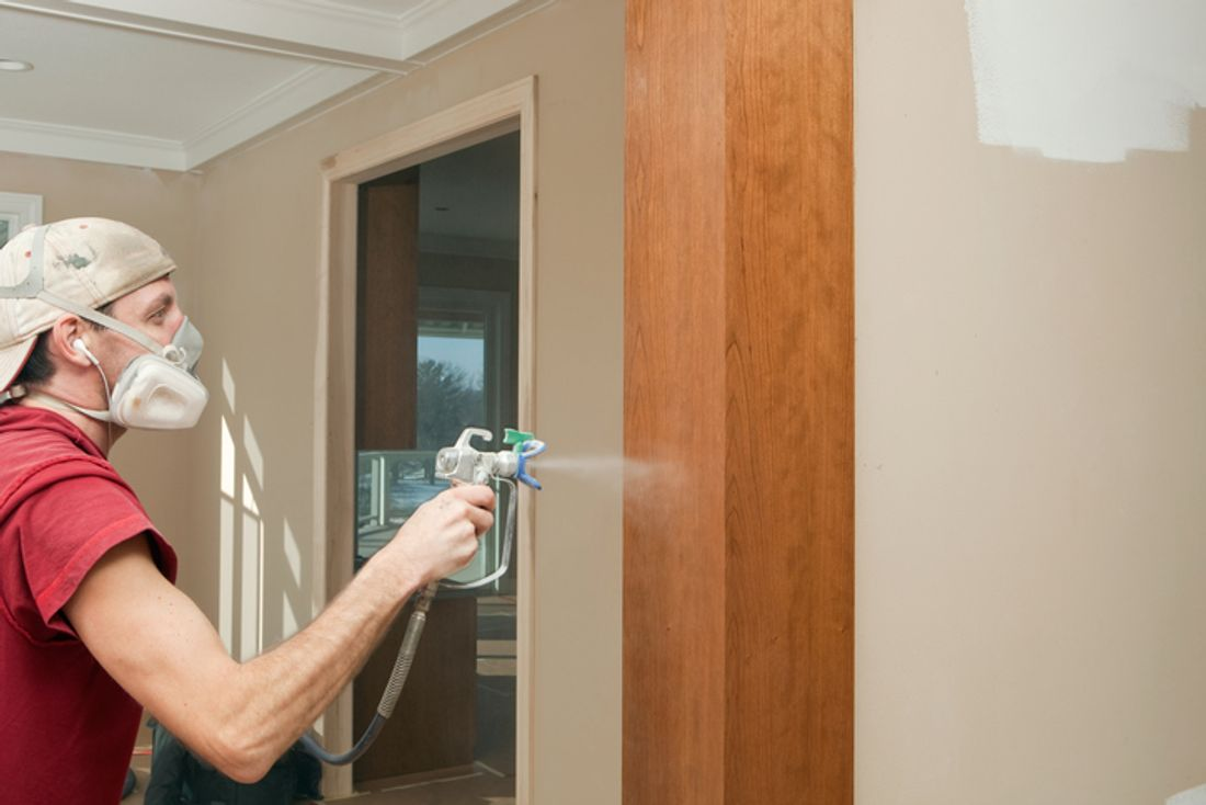 guide to spray painting your walls hipages com au