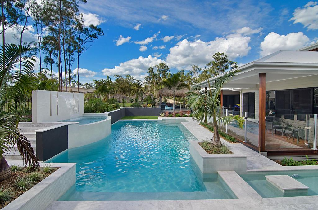 Terrific swimming pool builders victoria australia for Cost to build a house in arizona