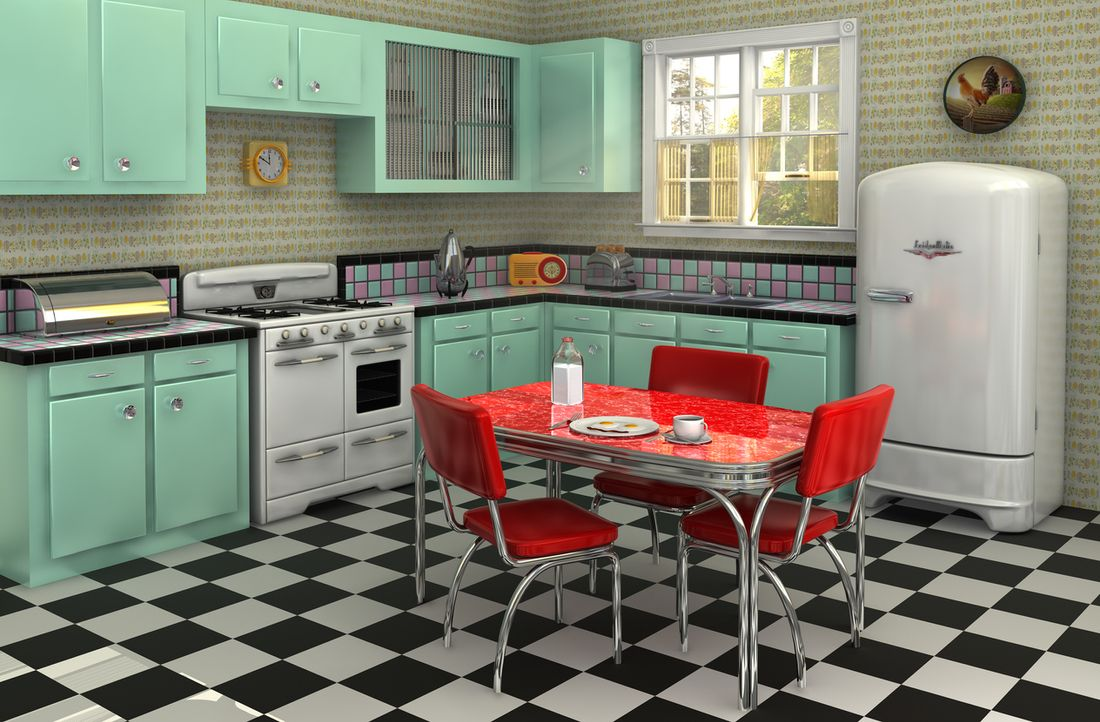 kitchen design history. In the 1950s  kitchens started to become not only more functional but stylish as well Although particle board had been invented steel cabinets were A history of modern kitchen design 1957 2017 and 2027 hipages