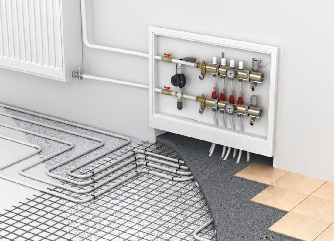 Room heating options Heating options