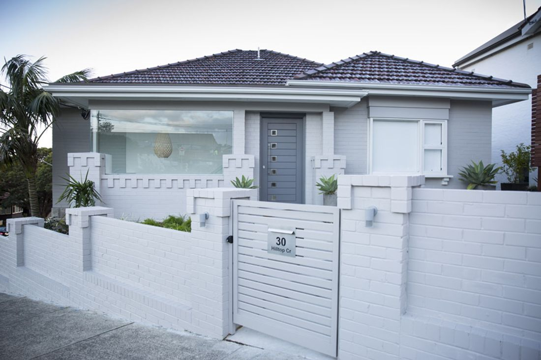 a complete renovation in fairlight  sydney