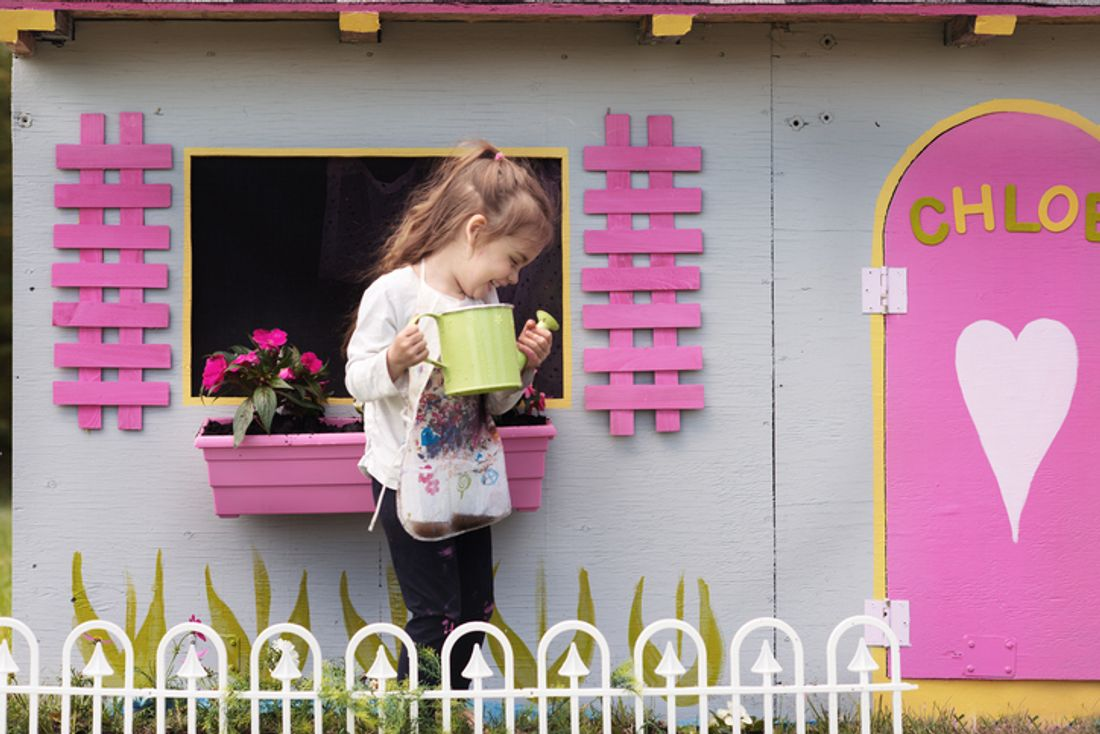 how to make a cubby house