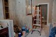 preparing tiles to be painted