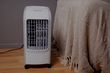 What is a portable evaporative air cooler?
