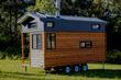 Tiny eco house on wheels