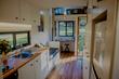 Inside an eco tiny house