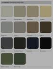 fencing colour range
