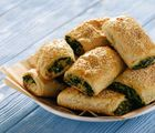 Check out This Vegetarian Sausage Roll Recipe