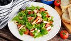 Fresh, Healthy Haloumi Salad With Chimichurri Dressing Recipe