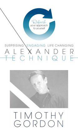 The Alexander Technique/Somatics