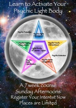 Learn to Activate Your Light Body Workshop