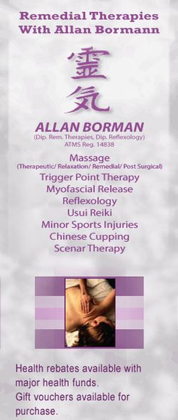 Remedial Therapies with Allan Bormann