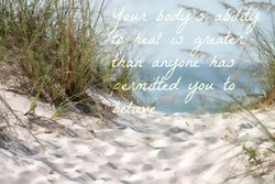 Kinesiology Claire Tait Beach quote
