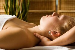 Relaxing Neck and Shoulder - Reiki and Massage