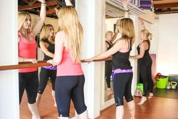 BodyBarre Class in the Studio