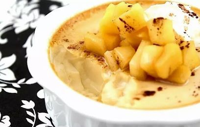 Apple Custard Recipe