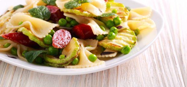 Zesty Farfalle Pasta Salad Recipe