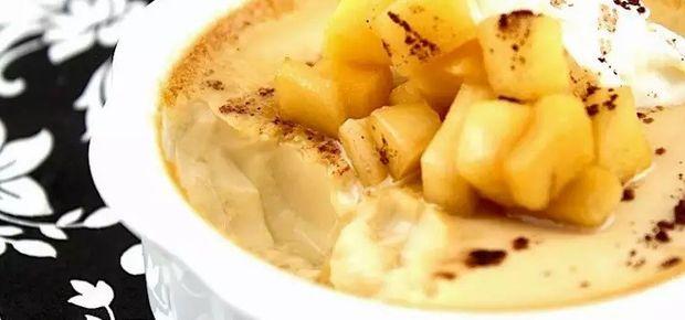 Apple Custard Recipe