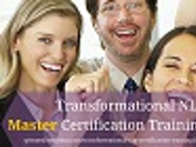 Transformational NLP Master Practitioner Certification Training